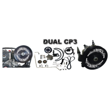 "Industrial Injection Dual CP3 Kit W/Dragon Fire Pumps ""Dueling Dragons"" -Fits- 01-09 LB7-LMM Duramax"