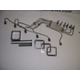 Industrial Injections - SSTOCKS24 - Dodge Cummins 98.5-02 - Stainless Steel Stock Straight Line Each Sold Separately