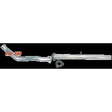 Flo~Pro 835F Aluminized DPF Delete Pipe with Bungs Fits 07-10 Dodge 2500/3500 6.7L