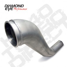 Diamond Eye 221040 94-02 Dodge 5.9L Cummins Aluminized Turbo Direct Hx40 Pipe - Does Not Include Clamp