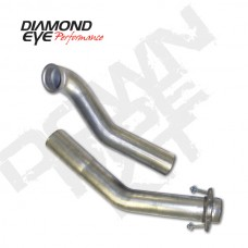 "Diamond Eye PN-122004 3"" Aluminized Down Pipe Kit Fits 94-97 Ford 7.3L Power Stroke"