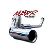 "MBRP S6100304 4"" 304 Stainless Turbo Back for 94-02 Dodge 5.9L Cummins - Includes 5"" Tip"